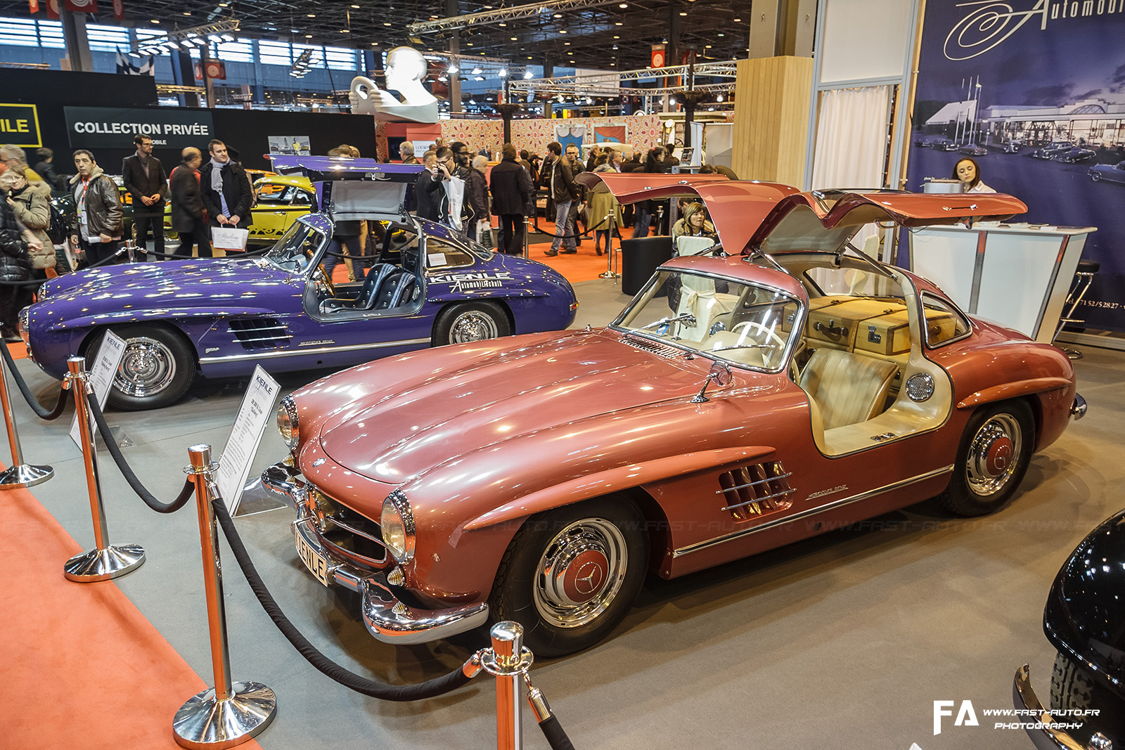 salon retromobile fevrier 2014 mercedes 300sl kienle strawberry retromobile 2014 paris. Black Bedroom Furniture Sets. Home Design Ideas